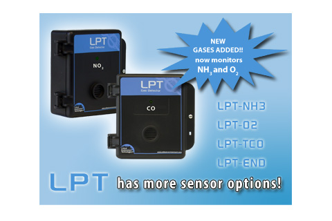 New Sensors Now Available for the LPT Low Power Transmitter