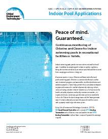 Application: Indoor Swimming Pools - QCC and two LPT-A's