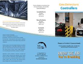 Controllers Trifold Brochure