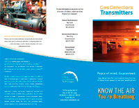 Transmitters Trifold Brochure
