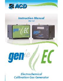 GENie-EC Instructional Manual