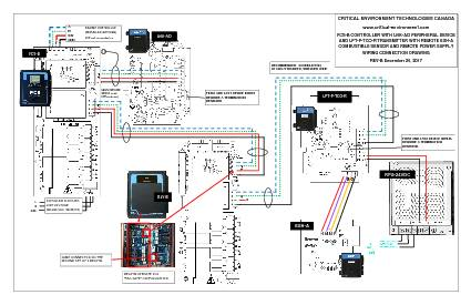 Wiring Drawing: FCS-B with LNK-AO and LPT-P with ESH-A, RPS-24VDC and RLY-8 Remote Relay