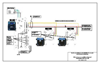 Wiring Drawing: QCC-B with LPT-A