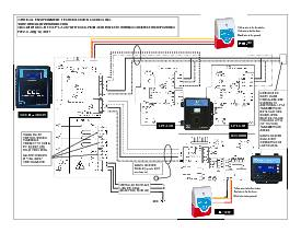 Wiring Drawing: QCC-M with Option -AO and LPT-A, QCC-RDM and RSH-24V
