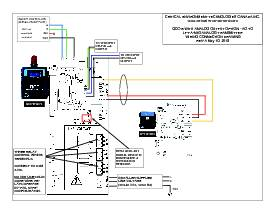 Wiring Drawing: QCC-M with Options -AO-L to VFD and LPT-A