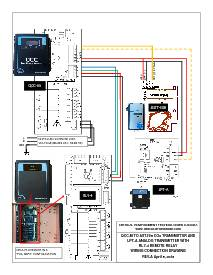 Wiring Drawing: QCC-M with AST-IS6, LPT-A and RLY-4